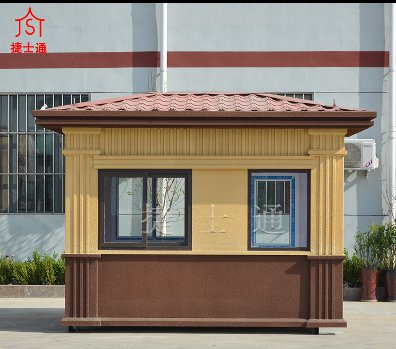 天津亚虎个人娱乐中心 成品门卫室 亚虎个人娱乐中心厂家