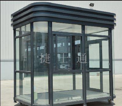 全玻璃保安亚虎个人娱乐中心门卫站岗亚虎个人娱乐中心门岗岗楼